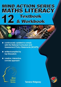 Maths Literacy Textbook Workbook Gr 12 NCAPS - Cover424x600