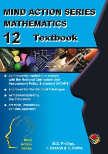 Maths Textbook Gr 12 NCAPS - Cover424x600