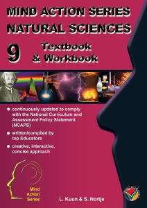 Natural Sciences Textbook Workbook Gr 9 NCAPS - Cover424x600